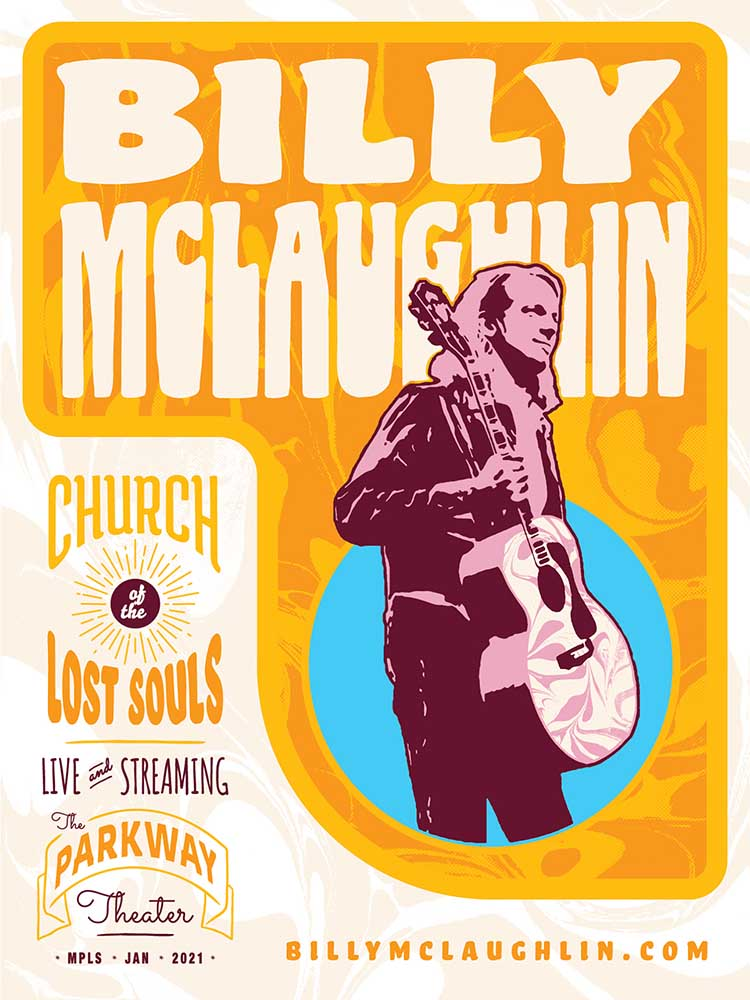 Billy-McLaughlin-Church-of-the-Lost-Souls Poster